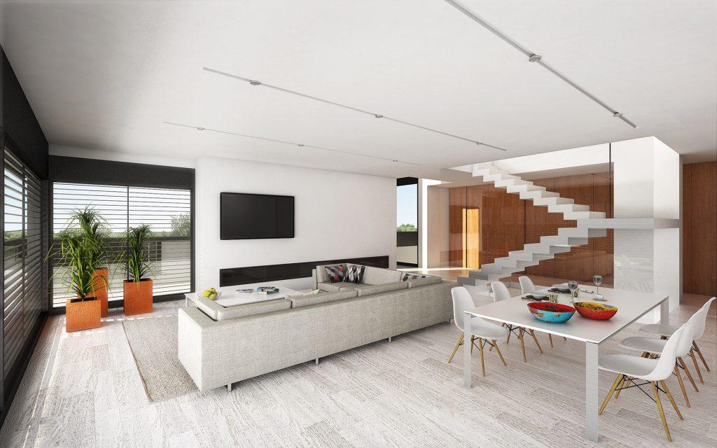 Interior casa diseño