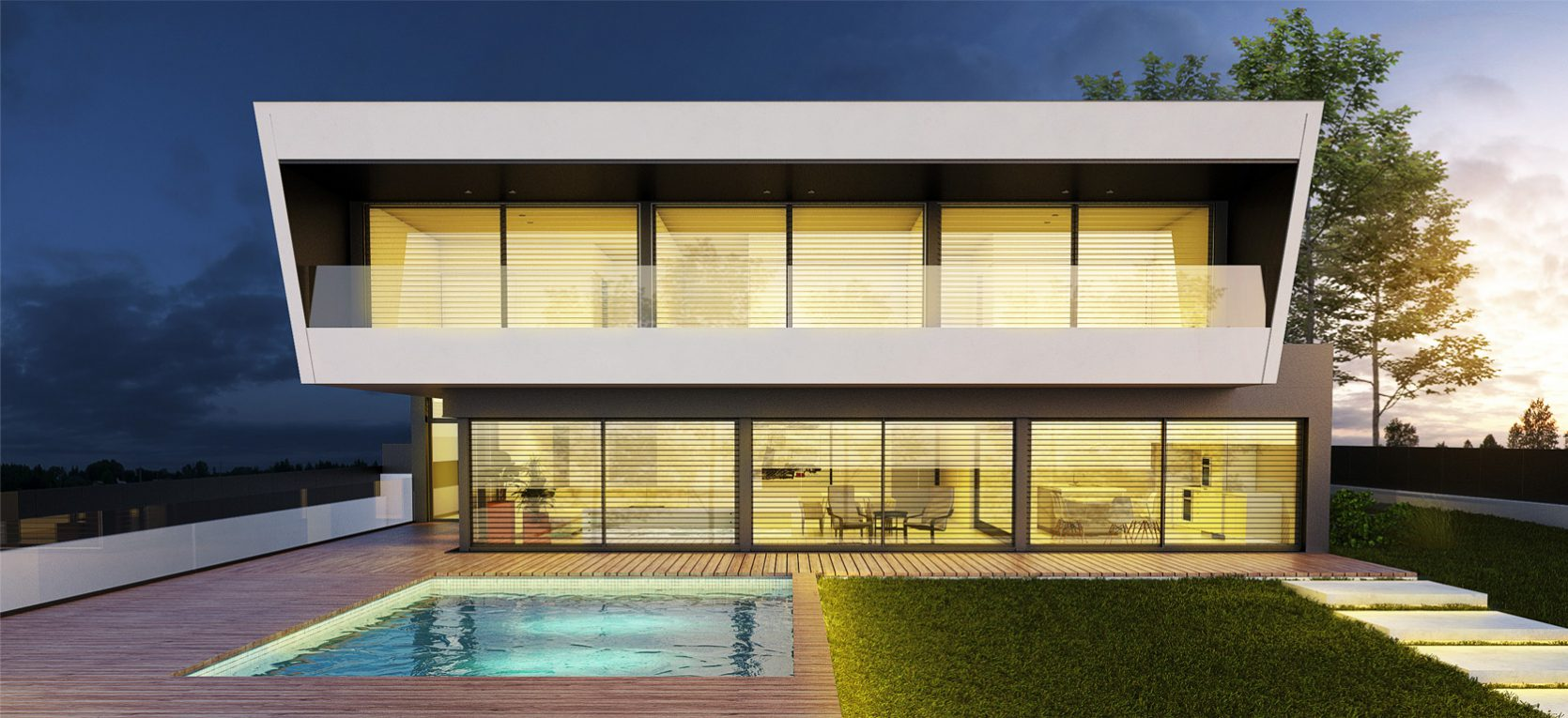 Casa de diseño acabados de lujo