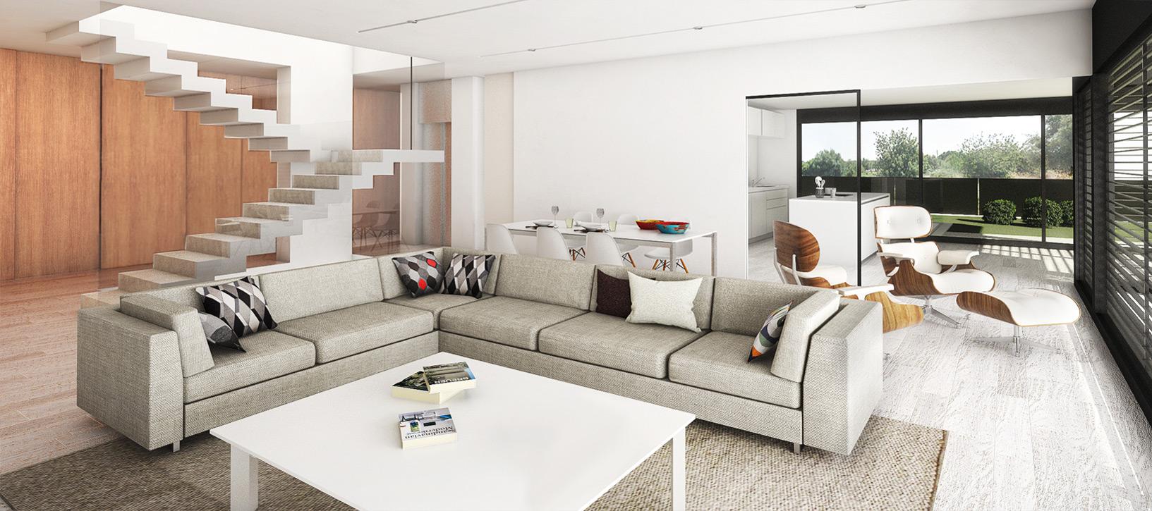 Casas proconstruidas roibos for Casa moderna tecnologica