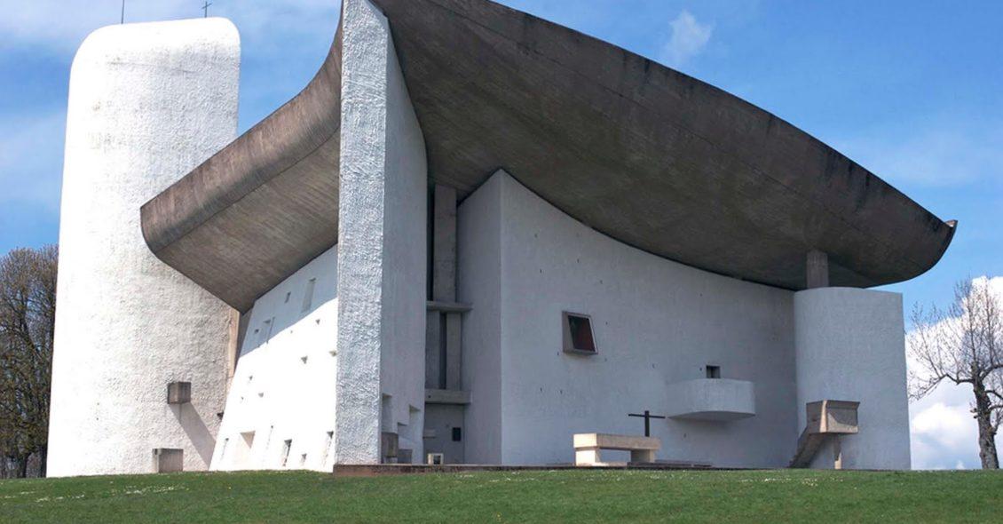Capilla de Notre-Dame-du-Haut en Ronchamp