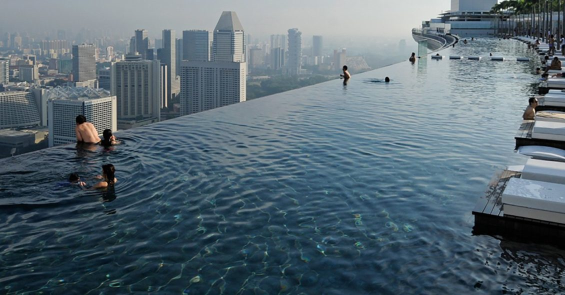Casas-de-diseño-modernas-de-hormigón-foto-Marina-Bay-Sands-Singapore
