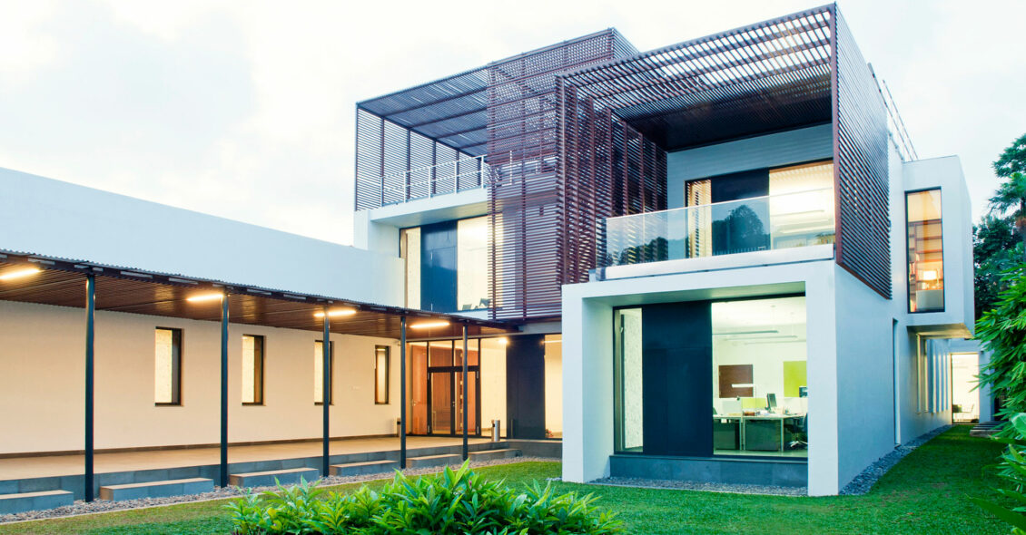 Embajada de Austria en Jakarta Crédito imagen © Pos Architekten