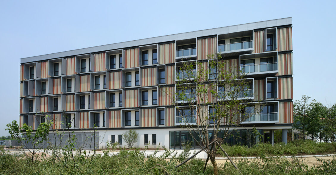Passive House Bruck in Changxing, in China Crédito imagen © Jan Siefke